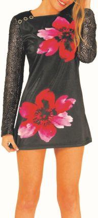 fe6d9d8bac Culito from Spain czarna sukienka 2 Flores - XXL