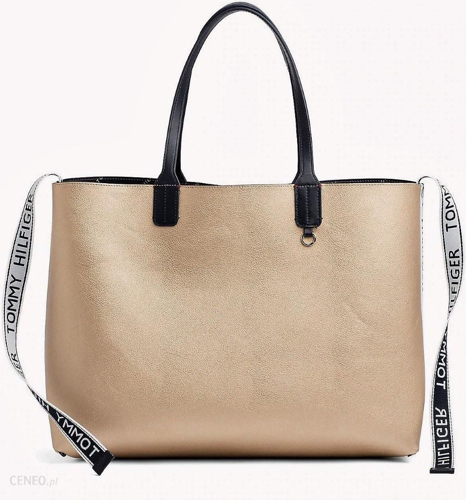 e66d9c01a08b4 Tommy Hilfiger dwustronna torebka Iconic Tommy Tote - Ceny i opinie ...