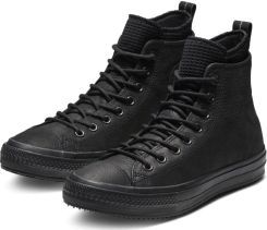 821cc63cd7aad Converse czarne męskie trampki skórzane Chuck Taylor All Star Hi Black - 44