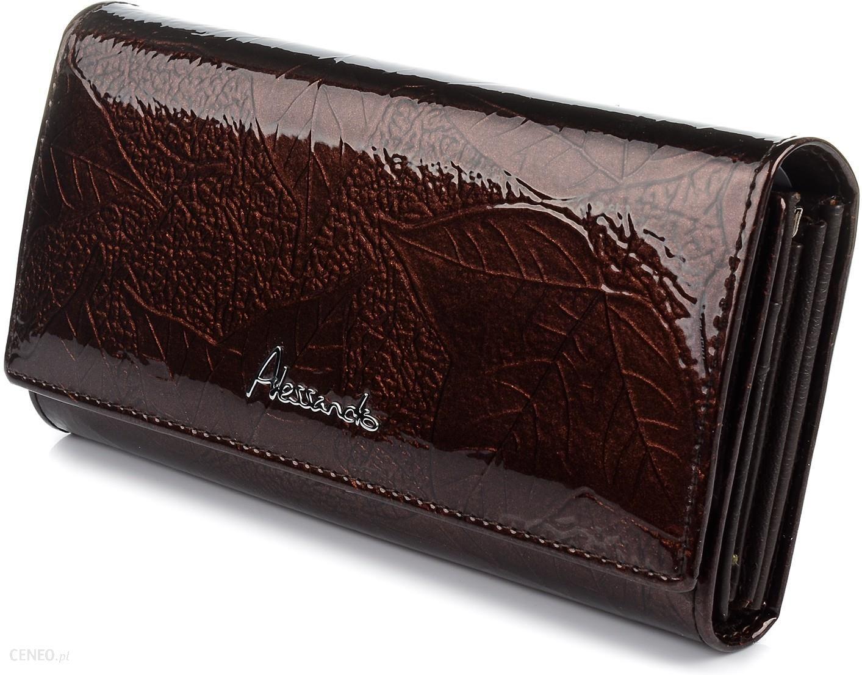 50bd2ecbd96fe Duży damski portfel skórzany bigiel liście pudełko U68 - Ceny i ...