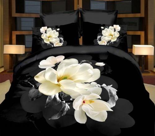 Cotton World Pościel 3d Kwiaty 160x200 3 Cz Opinie I Atrakcyjne