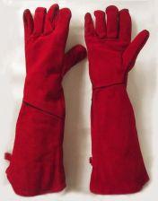 148d920886c367 AliExpress Super długim rękawem 50-58 cm prace spawalnicze bezpieczeństwa  ochrony skórzane rękawiczki pełna podszewka