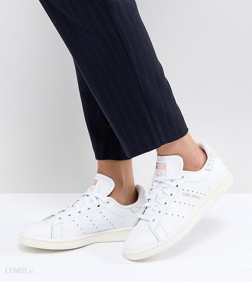 Adidas Originals Stan Smith Trainers With Reptile Back Counter Black Ceneo.pl