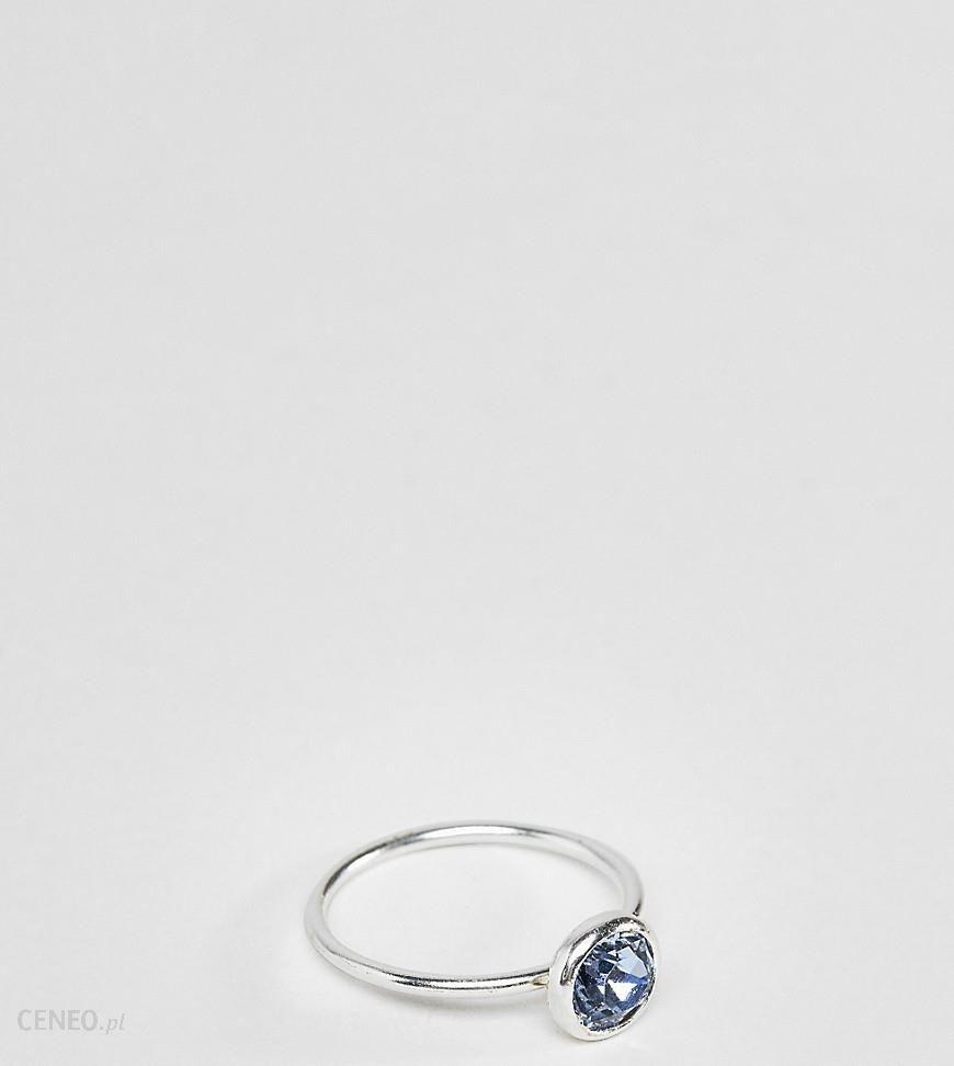 1f3f1040a1a7a Accessorize Sterling Silver Swarovski clear ring - Silver - Ceneo.pl