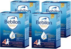 Bebilon JUNIOR 4 Pronutra Plus 6x1200g + żel Mustela 500ml