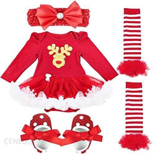 fa208286f6 ... czoło ocieplacz do nóg - 3–6 m. Amazon iefiel 4tlg zestaw ubrań dla niemowląt  dziewczęce buty prowadnicowy Set Body sukienka tuetue śpioszki opaska