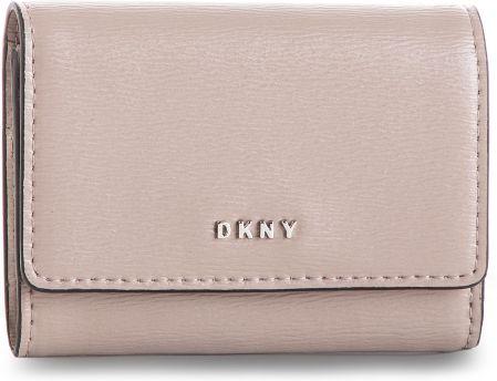 2591b8beffbab Mały Portfel Damski DKNY - Bryant Card Case Id R82Z3503 Warm Grey WG5 72  eobuwie