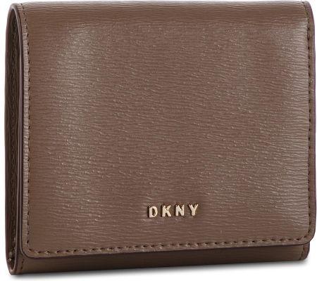 a05b76417f179 Mały Portfel Damski DKNY - Bryant Trifld Wallet R7413100 Desert DES eobuwie
