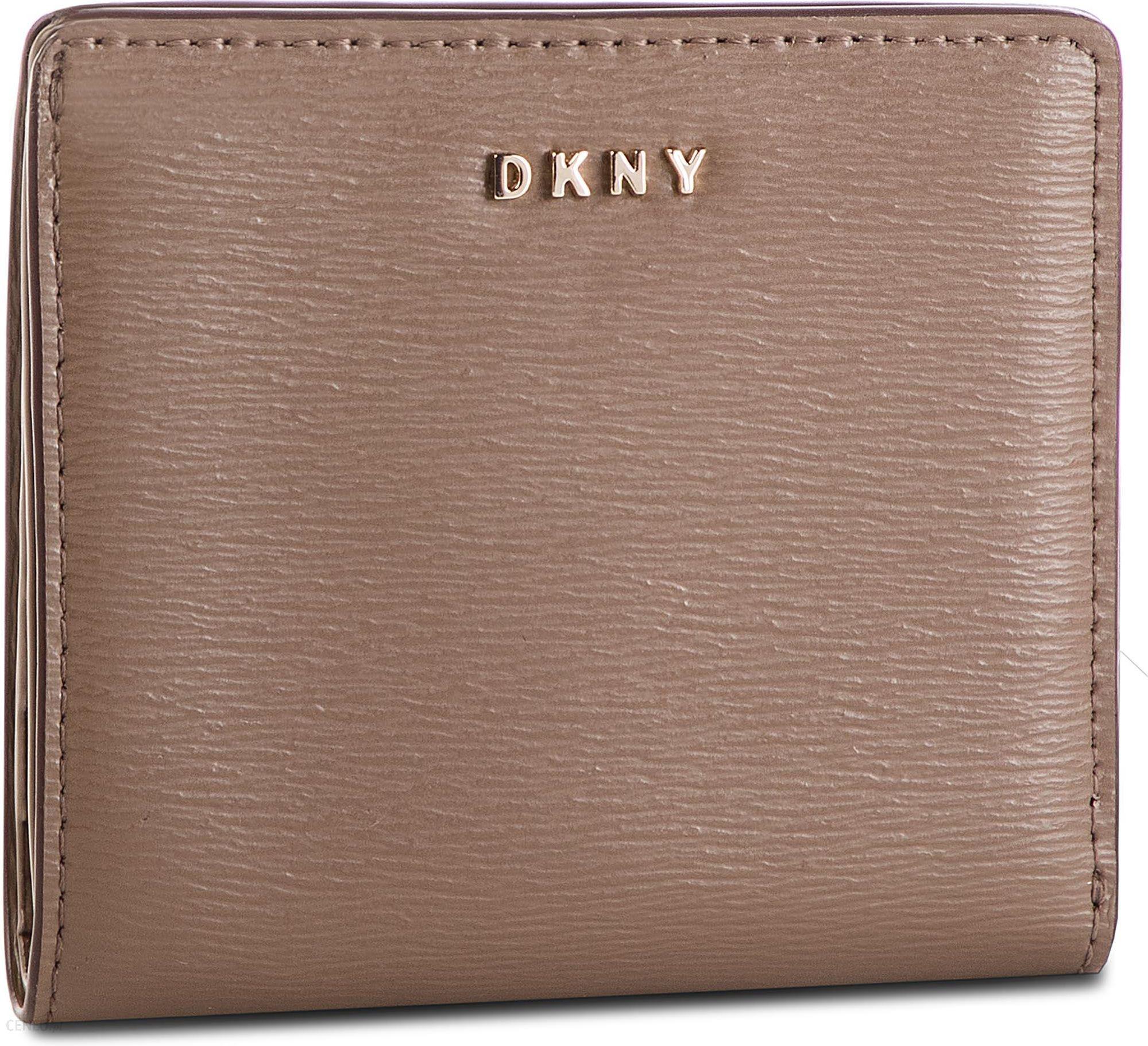 54d5184271e16 Mały Portfel Damski DKNY - Bryant Bifold Wallet R83Z3657 Desert DES -  zdjęcie 1