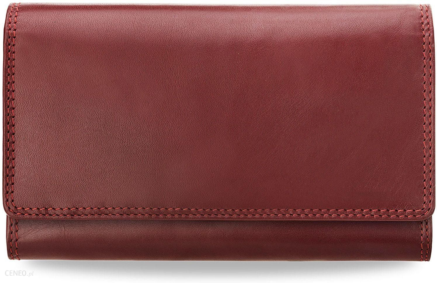 43cd14a3c0589 Duży ekskluzywny portfel damski visconti skórzana portmonetka - zdjęcie 1
