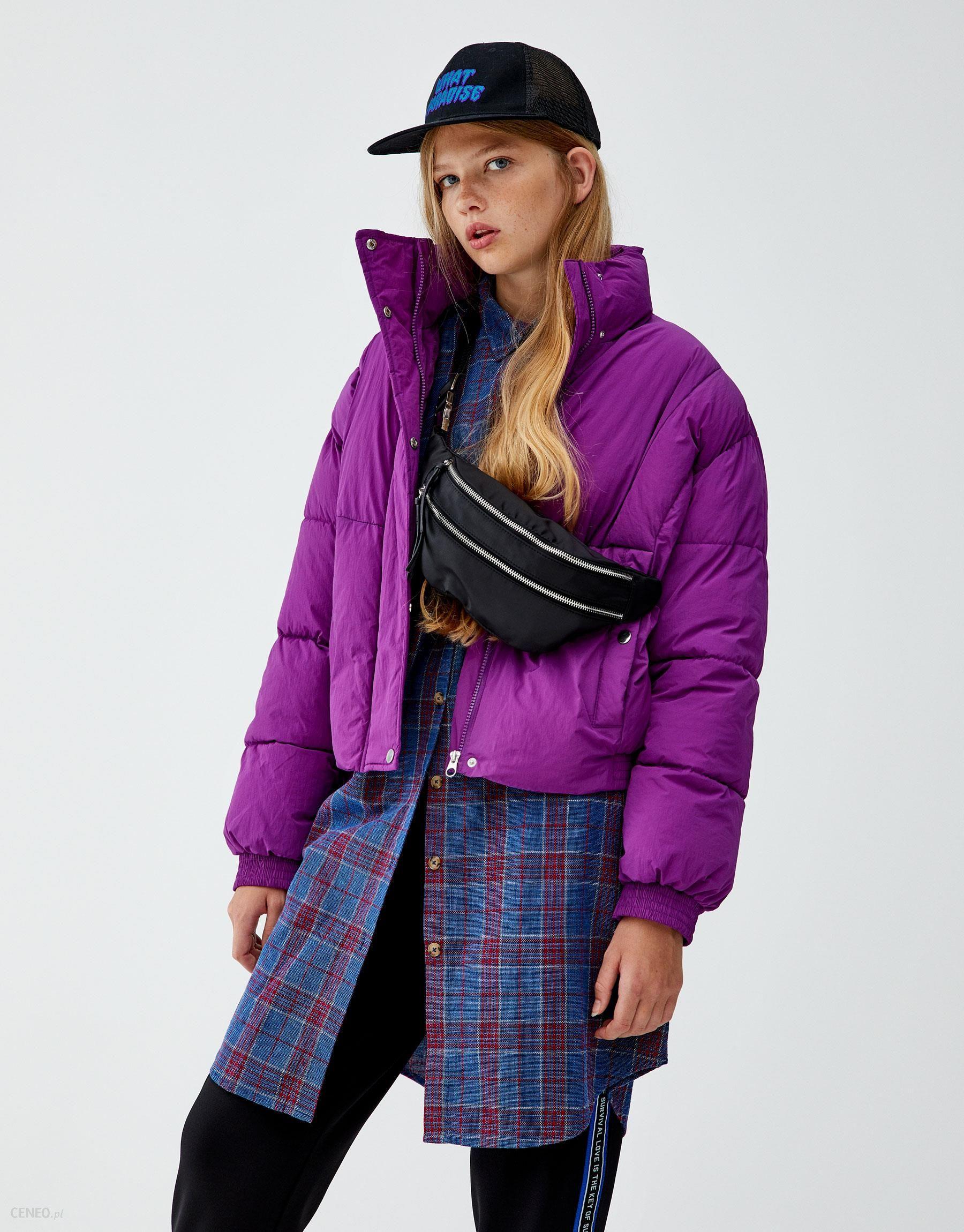 Różowa kurtka pikowana Pull&Bear Pull&Bear Ceny i opinie Ceneo.pl