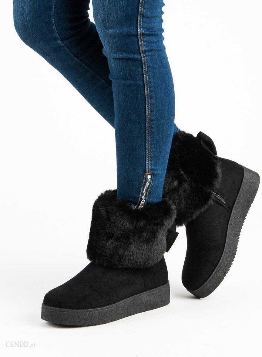 buty zimowe levis damskie z futerkiem
