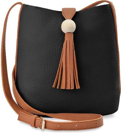 Eko torba damska zakupowa worek sakwa płócienna granatowy