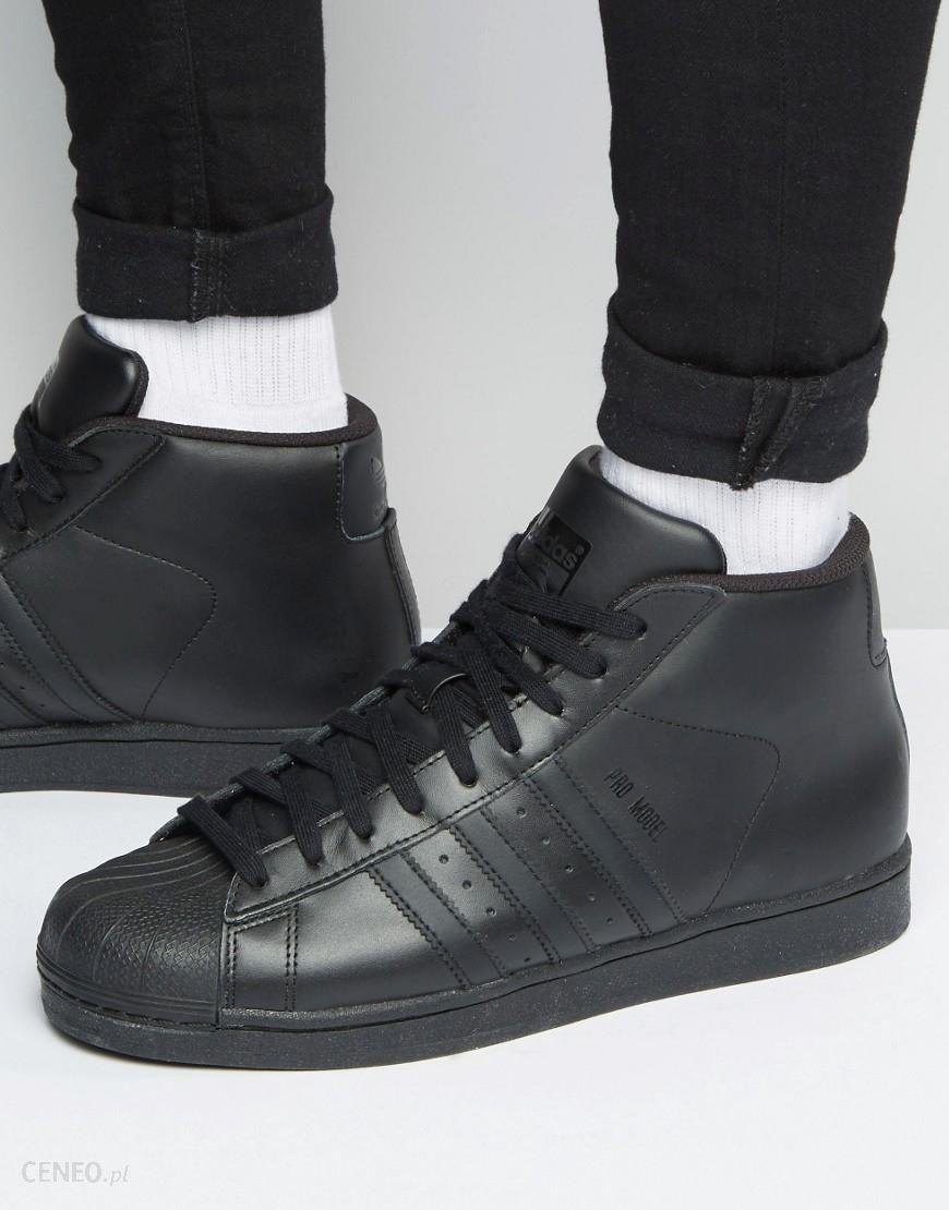 Adidas Originals Pro Model Trainers In Black S85957 Black Ceneo.pl