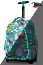 7fbb1665c6e2a Patio Coolpack Junior Plecak Na Kółkach Świecący Led Cupcakes A28203
