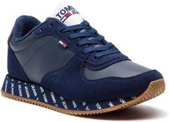 4f548fe3 Sneakersy TOMMY JEANS - Casual Sneaker EN0EN00394 Black Iris 431 eobuwie