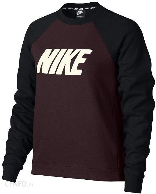 Nike Sportswear Bluzka sportowa 'W NSW CREW FLC CB' Ceny i opinie Ceneo.pl