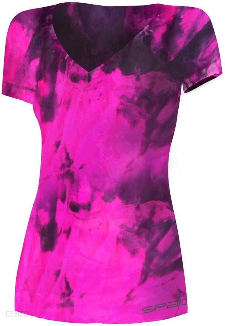 ae4bbd9ef07321 Spaio Damska koszulka sportowa Fitness różowy L/XL - Ceny i opinie ...