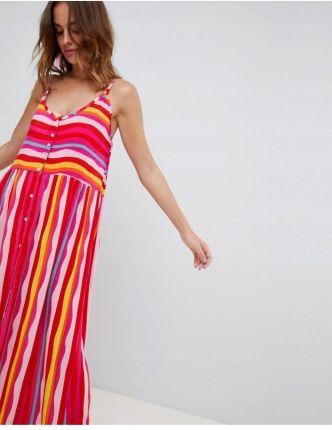 47f94e99bd Pianura Studio Exclusive Sukienka beżowa brązowa 4389399 - Ceny i ...