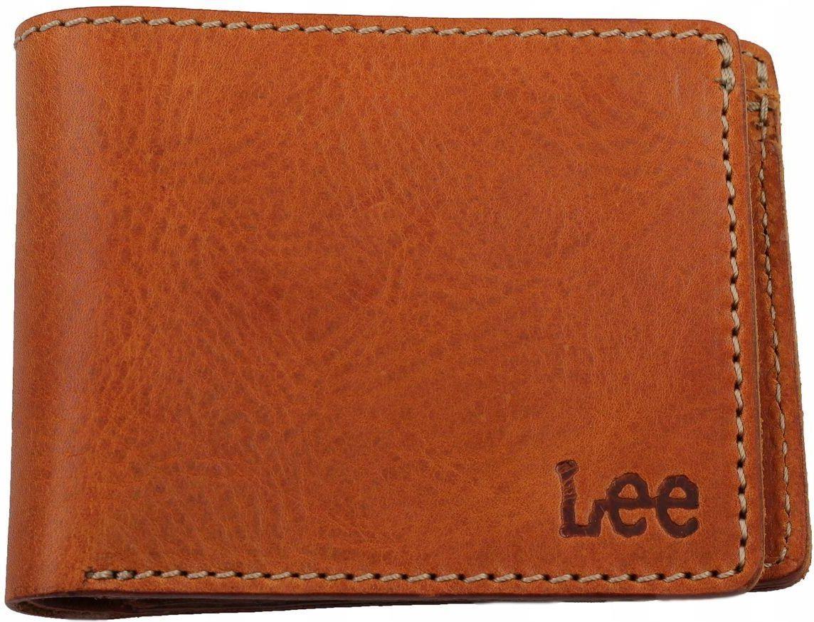 702988cbe9fd4 Lee wallet dark cognac LC635080 SKÓRZANY PORTFEL - Ceny i opinie ...
