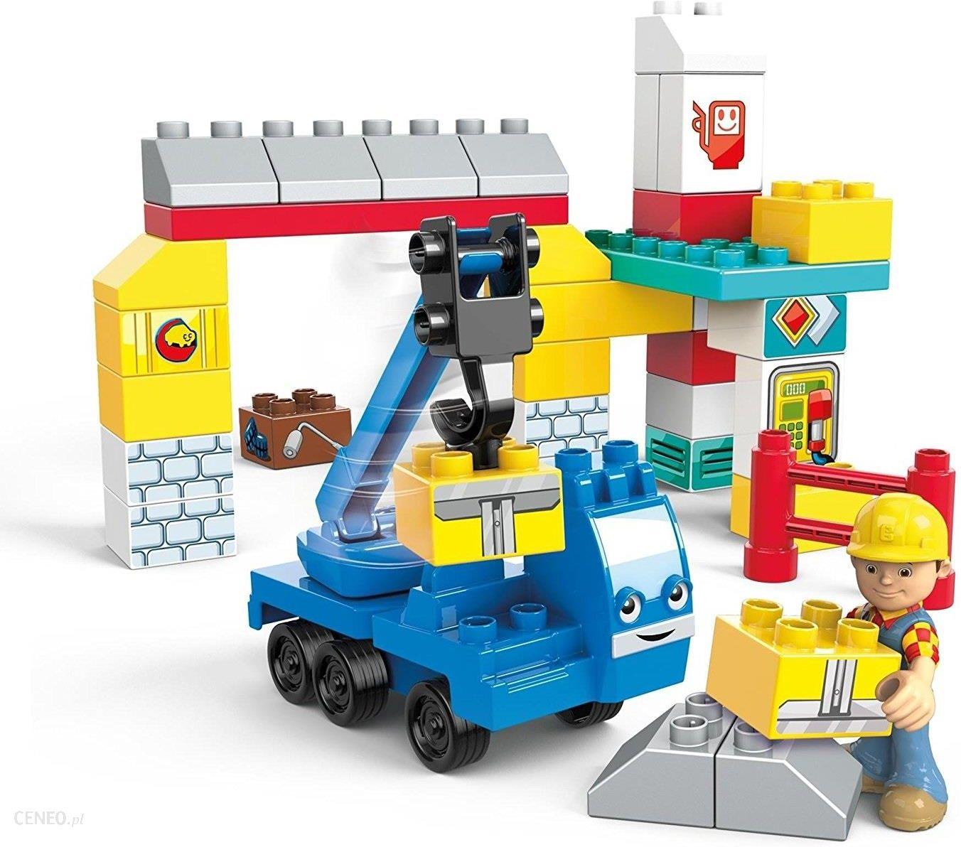 Mega Bloks Zestaw Bob Budowniczy I Dzwig W Garazu Ceny I Opinie Ceneo Pl