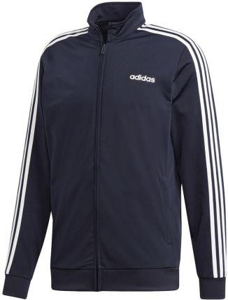 213eb64cbdc70 Bluza adidas Essentials 3 Stripes Tricot Track Top granatowa DU0445