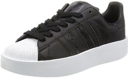 official photos 1c2ad c221c Amazon Adidas Damskie buty Superstar Bold w fitness, białe, 41  1  3