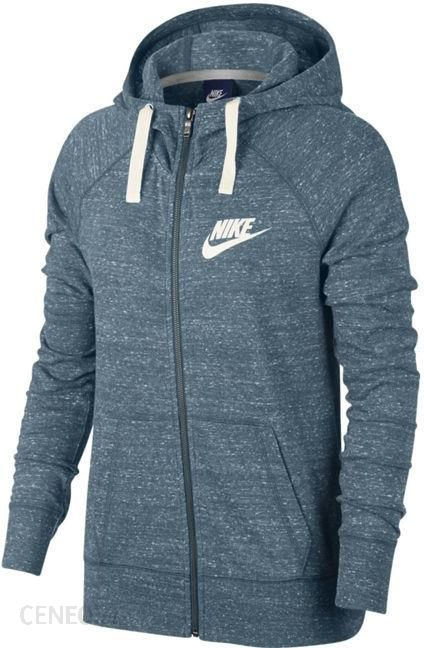 najbardziej popularny najlepszy hurtownik najlepsza cena Bluza damska Sportswear NSW Gym Vintage FZ Nike (niebieski melanż) - Ceny i  opinie - Ceneo.pl