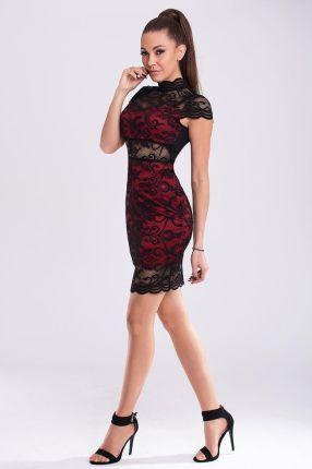 3d73c8078e DURSI Sukienka Model Pari Red L - Ceny i opinie - Ceneo.pl