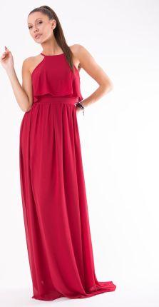 e392312a91 Podobne produkty do Bonprix Sukienka 916346 13617 biało-kolorowy. EVA LOLA  SUKIENKA CZERWONY 54006-1 S