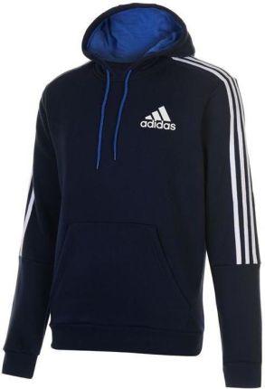 Adidas bluza z kapturem granatowa