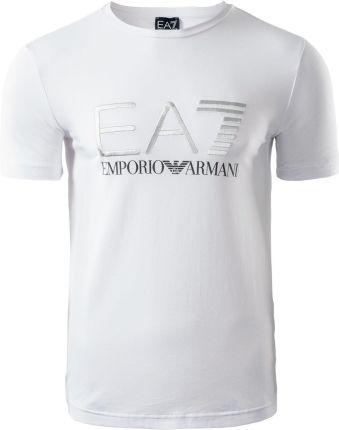 2d951d043ee410 Męska koszulka TRAIN LOGO SERIES SPECIAL LOGO 3GPT03PJ03Z1100 EA7 EMPORIO  ARMANI