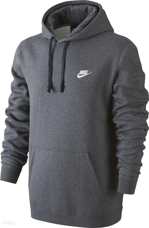 Bluza męska Sportswear NSW Hoodie Club Nike (ciemno szara)