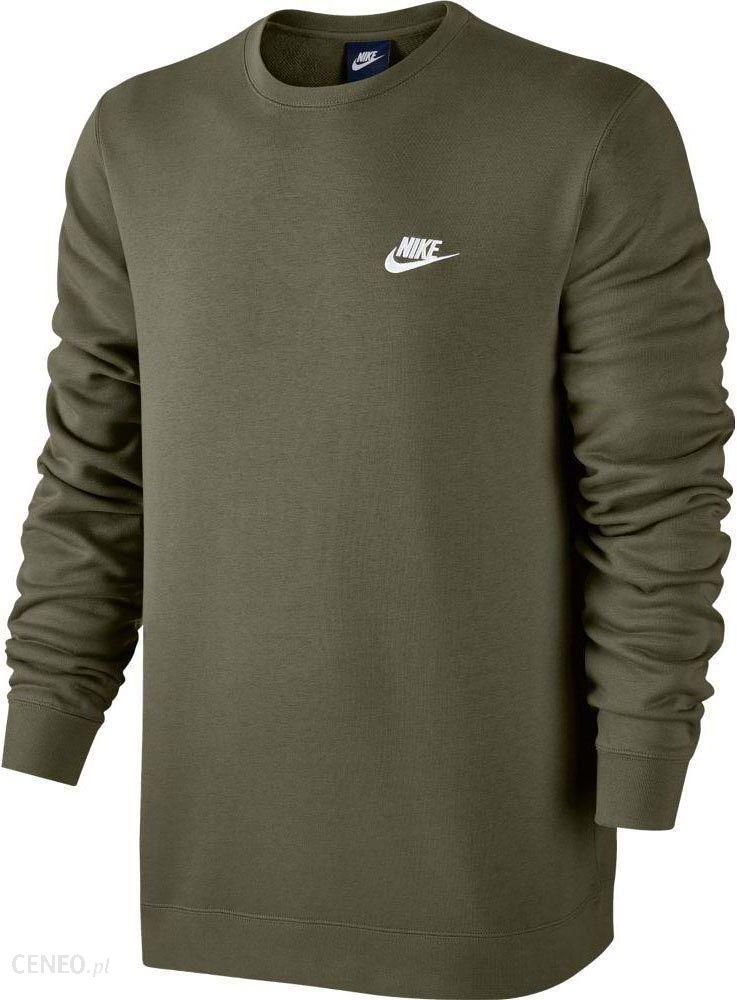 Bluza męska Sportswear NSW Crew Sweat Nike (khaki) Ceny i opinie Ceneo.pl