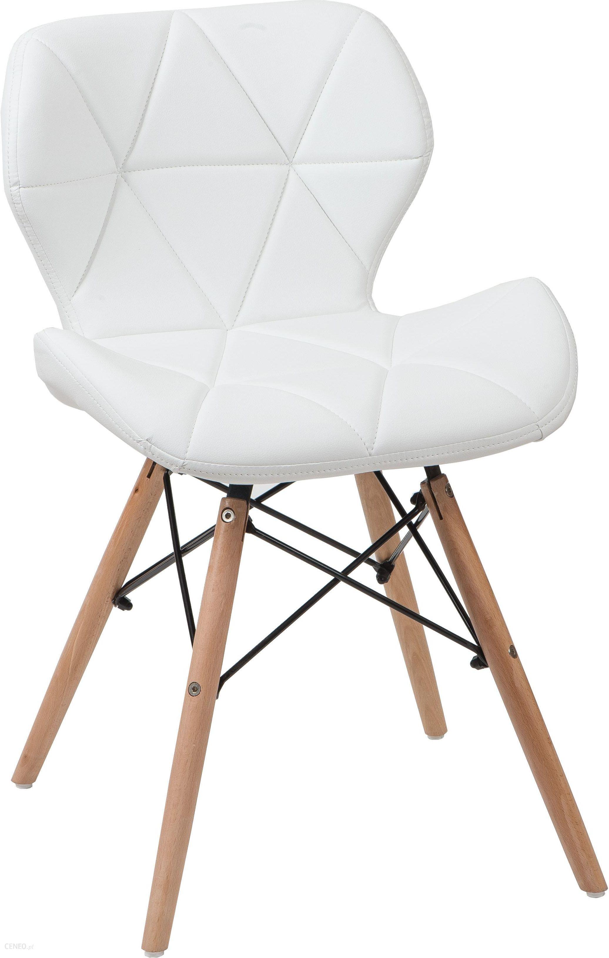 Meblemwm Krzesło Skandynawskie Art118 Białe 41Fe9504E