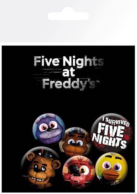 Gbeye Five Nights At Freddy'S Przypinki (Bp0700)