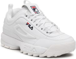 Sneakersy FILA - Disruptor Wmn Low 1010302.1FG White