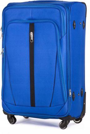 053845474cb92 Duża lekka walizka na czterech kółkach David Jones Czerwony - Ceny i ...