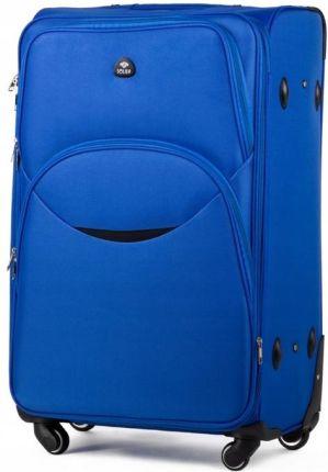303951fb0f57b Mała walizka turystyczna kabinowa SOLIER stl 1708 niebieska - Ceny i ...