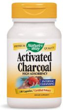 Nature's Way Activated charcoal aktywny węgiel drzewny 100 kaps