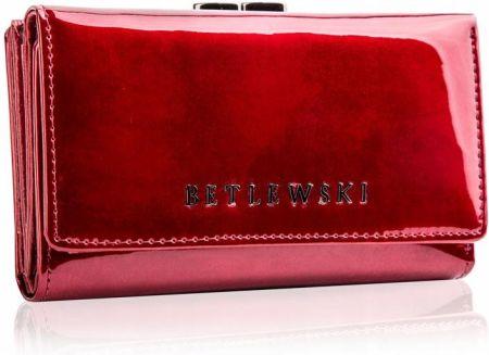 dc97c08185aaf Wittchen Verona duży lakierowany portfel skórzany szary - Ceny i ...