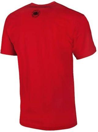 Koszulka Pit Bull ADCC ESPOO 2017 - Czerwona (217518.4500) - Ceny i opinie T-shirty i koszulki męskie QXVQ