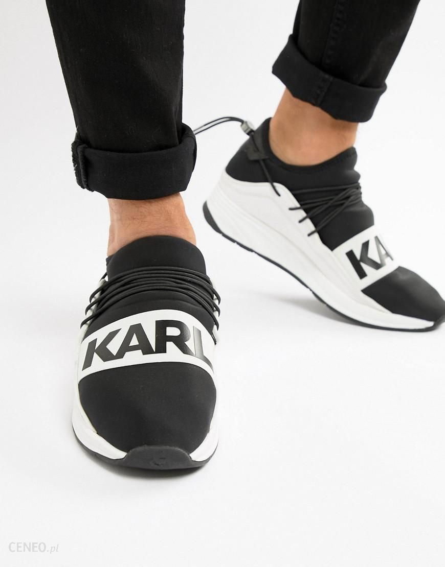 Karl Lagerfeld Vektor Band runner trainers Black Ceneo.pl