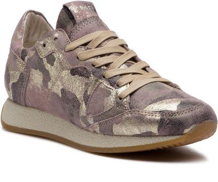4b2dfdf180ef8 Sneakersy PHILIPPE MODEL - Monaco MNLD CM01 Camouflage Metal Lilac Or  eobuwie