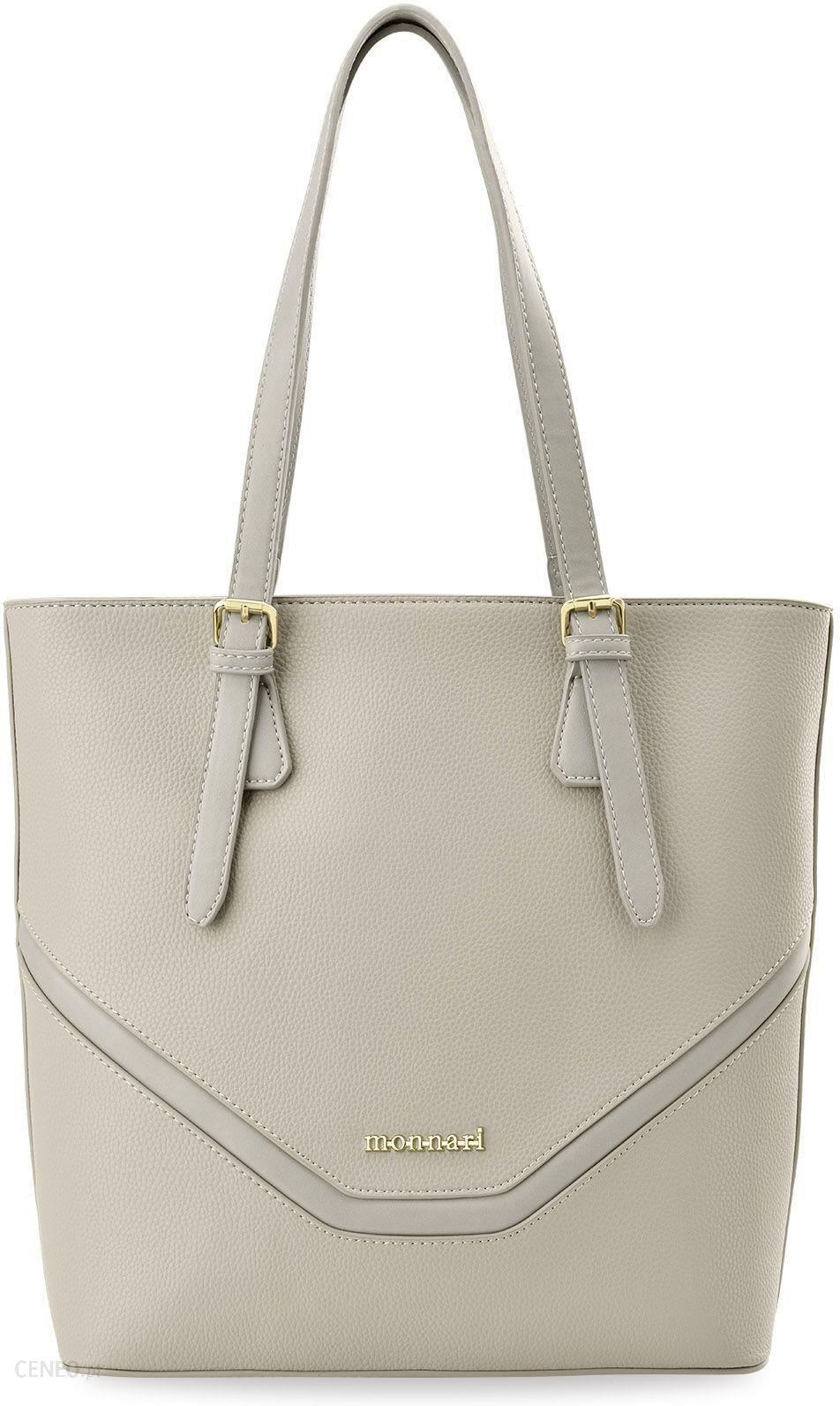 c556a7e20eed1 Shopperka monnari elegancka duża torebka damska zarka – beżowy - zdjęcie 1