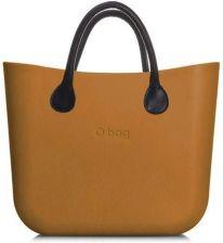 2d2288c6c9682 O bag musztardowe torebka MINI Narcis z krótkimi czarnymi uchwytami ze  skajki