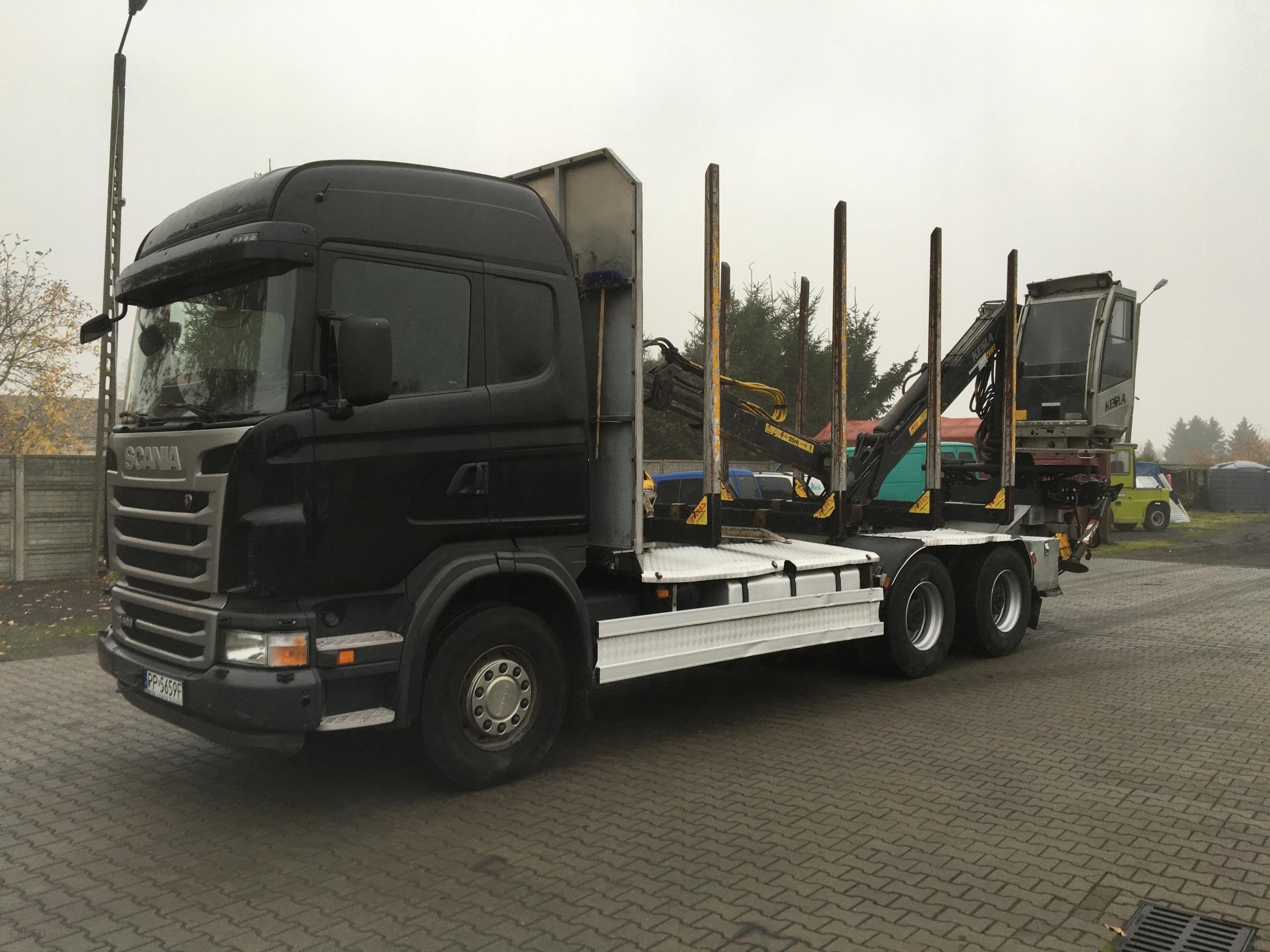 Scania G480 6x4 Do Lasu Drewna Drzewa Opinie I Ceny Na Ceneo Pl
