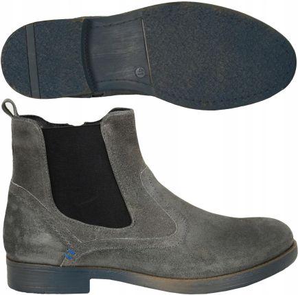 84c032c58db8e Made in Italia skórzane buty męskie sztyblety brązowy 41 - Ceny i ...