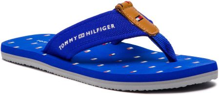 cheap for discount 59e0b 92911 Japonki TOMMY HILFIGER - Mini Flag Footbed Beach Sandal FM0FM01930 Surt The  Web 425 eobuwie