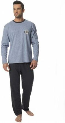 f23e9d9becb207 Podobne produkty do Cropp - Świąteczna piżama dwuczęściowa - Szary. Piżama  męska SAM-PY-129 Rossli